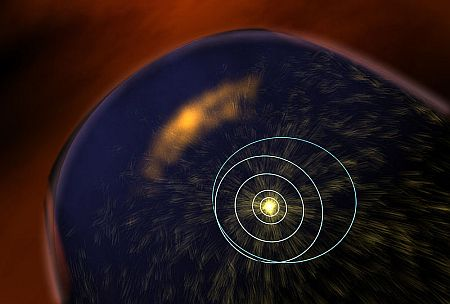 a coronal mass ejection