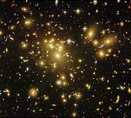 The Universe's most massive galaxy cluster, Abell 1689