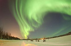 the aurora borealis