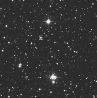 Binary star system BG Geminorum