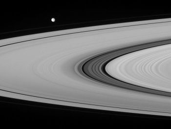 The Cassini Division within Saturn's ring system