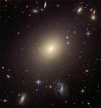The giant elliptical galaxy ESO 325 G004