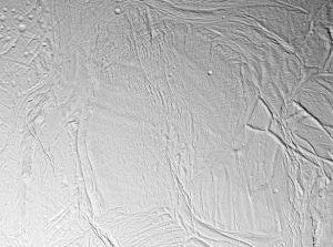 An example of a smooth plain on Saturn's moon Enceladus