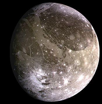 Jupiter's moon, Ganymede