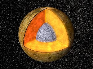 The interior of Jupiter's moon, Io