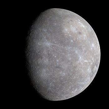 the planet Mercury