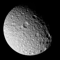 Saturn's moon, Mimas