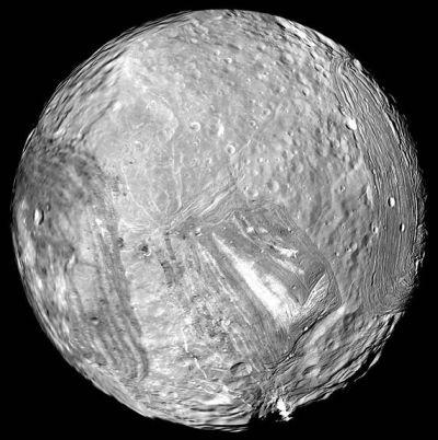 Uranus's moon, Miranda