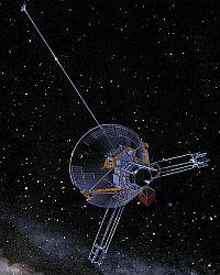 The NASA probe Pioneer 10