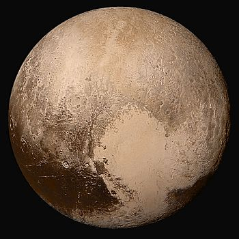 Image of Pluto, taken by NASA's New Horizons probe