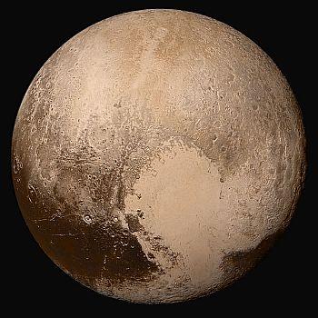 Image of Pluto, taken by NASA's New Horizons probe