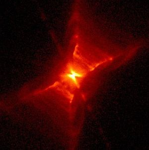 The Red Rectangle Nebula