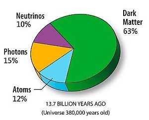 Composition of the very early Universe