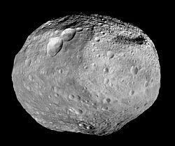 The asteroid Vesta