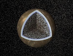 The interior of Jupiter's moon, Callisto