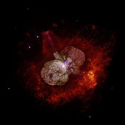 Hypergiant star Eta Carinae