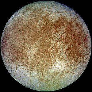 Jupiter's moon, Europa