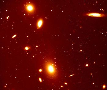 a galactic cluster