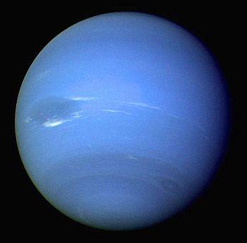 The planet Neptune