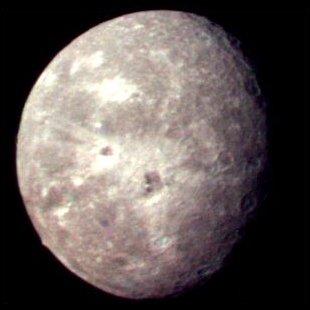 Uranus's moon Oberon