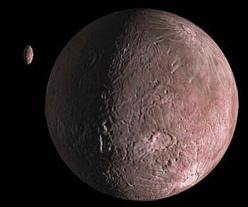 The Kuiper Belt object Quaoar and its moon Weywot