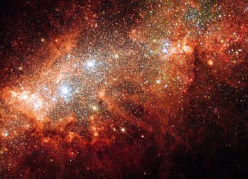 Dwarf galaxy NGC 1569