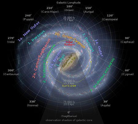 The Sun's orbit round the Milky Way