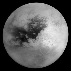 The surface of Saturn's moon Titan