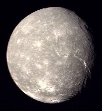 Uranus's moon Titania