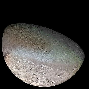 Neptune's largest moon, Triton