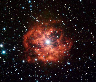 Wolf-Rayet star WR124